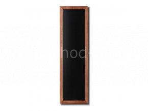 Dřevěná tabule 40x120, světle hnědá