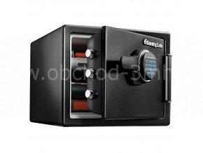 Ohnivzdorný a vodotěsný sejf SentrySafe SFW082FTC-Fireguard  + dárek pokladnička TRAUN 3 zdarma