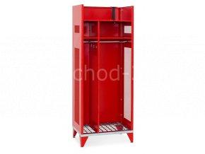 Skříň pro hasiče IPO, 1780 x 750 x 500 mm - kovová