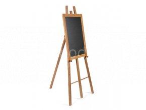 Dřevěný stojan pro křídové tabule, světle hnědá