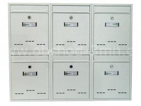 Poštovní schránka RM-010 v sestavě