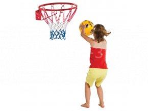 Basketbalový koš červený