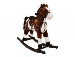 houpací kůň tmavý velký 2