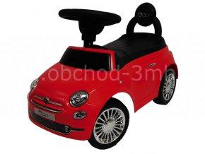 FIAT 500, červený