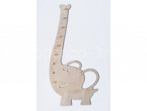 Dětský dřevěný metr - SLON
