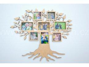 Fotorámeček - Dřevěný strom malý