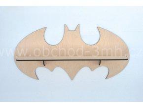 Dětská dřevěná polička - BATMAN