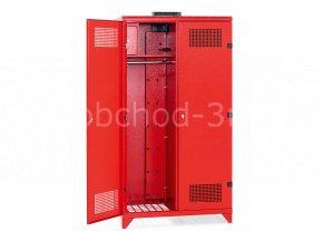 Skříňky pro hasiče IPD, 1780 x 1000 x 600 mm - kovová