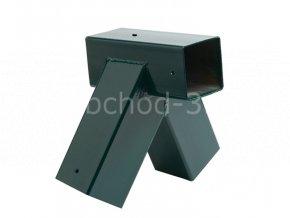 Spojovací díl, rohový spoj pro hranol 90 x 90 mm
