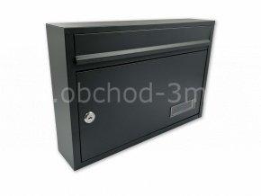 Poštovní schránka RADEK antracit