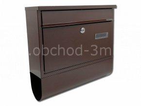 Poštovní schránka RADIM s rourou