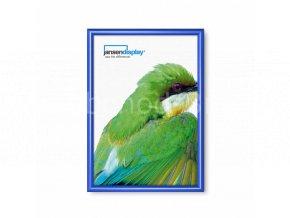 Klaprám A2, ostrý roh, profil 25 mm, barva RAL 5010 modrá