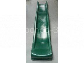 Skluzavka KBT Yulvo 220 cm s přípojkou na vodu zelená - II. třída