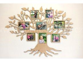 Fotorámeček - Dřevěný strom velký