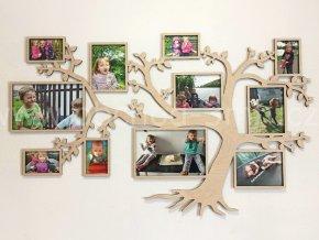 Fotorámeček - Dřevěný strom HORIZON