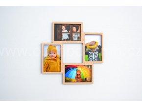 Fotorámeček - na 4 fotografie