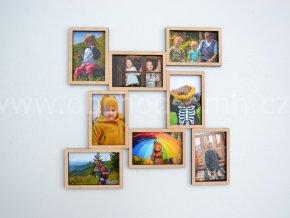 Fotorámeček - na 8 fotografií