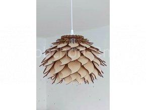 Dřevěné svítidlo LOTOS 40D