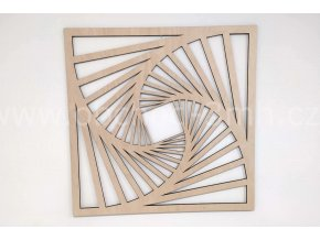 Dřevěný obraz - SCHODIŠTĚ