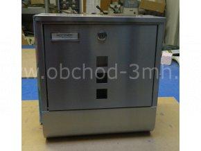 Poštovní schránka s boxem COSTA inox - II. třída