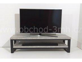 Televizní stolek ECHT - BETON