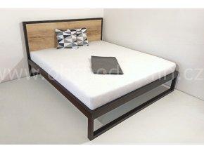 Kovová postel ECHT - dekor dle výběru