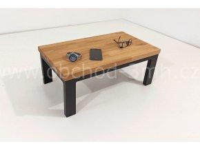 Odkládací stůl ECHT I6/3 - masivní deska dub