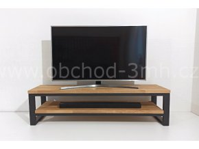 Televizní stolek ECHT - masivní deska DUB