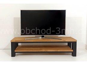 Televizní stolek ECHT I8 - masivní deska DUB