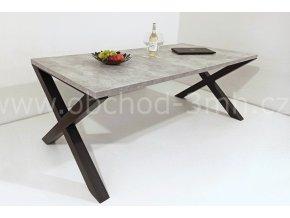 Jídelní stůl X8 - BETON