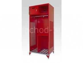 Skříňky pro hasiče, IPF, 1780 x 800 x 600 mm – kovová