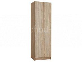 Šatní skříňka 2-dveřová 1970x600x500 lamino/lamino