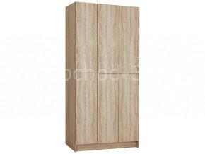 Šatní skříňka 6-boxová 1970x900x500 lamino/lamino