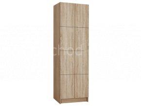 Šatní skříňka 8-boxová 1970x600x500 lamino/lamino