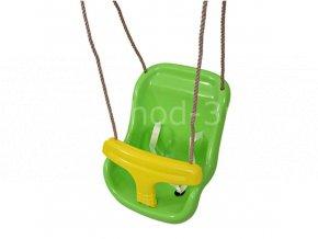 Dětská houpačka 2v1 světle zelená