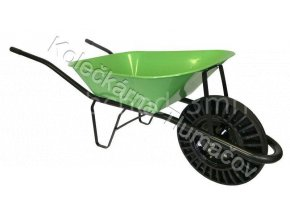 Kolečko stavební KS60 - světle zelená korba - bantam