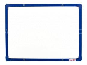 Lakovaná tabule na fixy se modrým rámem 060x045