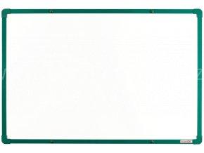 Tabule magnetická boardOK 60 x 90 cm, lakovaný povrch, zelený rám U20