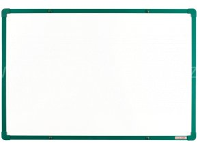 Keramická tabule boardOK 60 x 90 cm,zelený rám U20