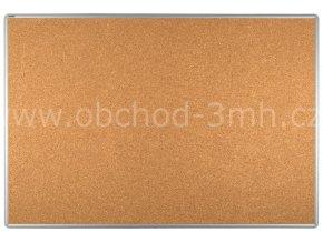 Korková tabule ekoTAB, hliníkový rám 120x100 cm