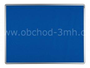 Textilní tabule ekoTAB 60x90 cm, modrá