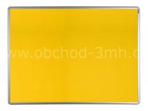 Textilní tabule ekoTAB 60x90 cm, žlutá
