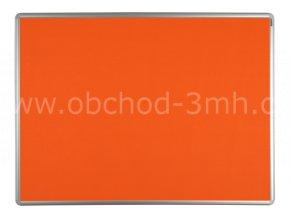 Textilní tabule ekoTAB 60x90 cm, oranžová