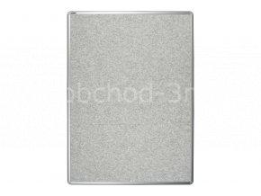 Textilní tabule ekoTAB 75x100 cm, šedá