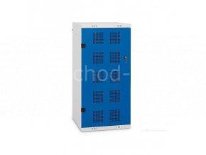 Golfová skříň 1250 x 550 x 550 mm - kovová