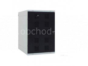 Golfová skřín, 1250 x 825 x 550 mm - kovová
