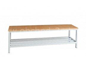 Šatní lavice 450 x 2000 x 350 mm