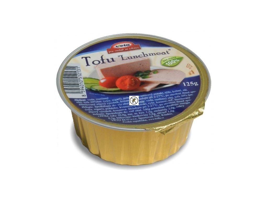 TOFU lunchmeat bez lepku 125g Veto