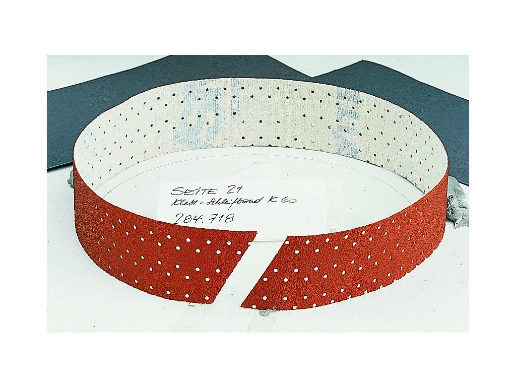 Brusný pás na suchý zip 600 x 40 mm, 10 ks