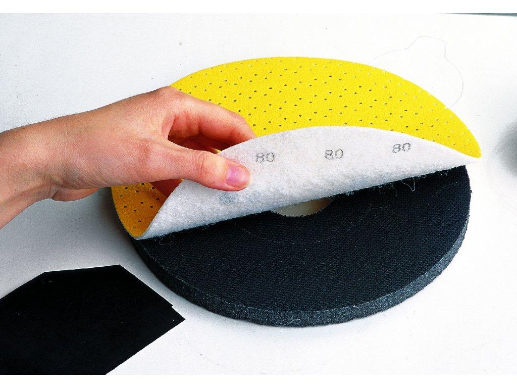 Adaptér pro papír na suchý zip s měkkou podložkou průměr 225 mm  13 S/H a 16 S/H